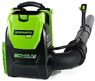 Greenworks 80V 145MPH - 580CFM Cordless Backpack Leaf Blower